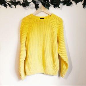 Vintage Brittania Yellow Sweater